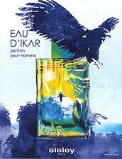 PUBLICITE  2011   SISLEY  eau d 'IKAR  parfum