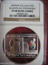 2009 Coin of Poland Silver 20zl NGC PF68 Wladyslaw Strzeminski Polish Bullion