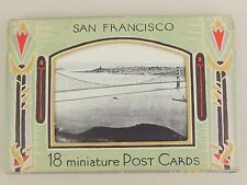 18 Postcards 1934 San Francisco B&W Photo RPPC Post Cards JC Bardell Vintage