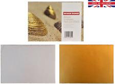 Design Range Metallic Envelopes Pack of 20 C5 10 Gold & 10 Silver 120 gsm