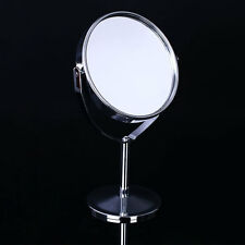 Beauty Cosmetic Makeup Round Double-Side Normal Magnifying Stand Mirror