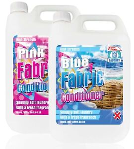 Fabric Conditioner 'Clean n Fresh', Pink, Blue, 5 Litre 125 Washes