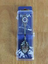 NASA Silver Plated Collector Spoon Vintage NOS 1988 Dutch American Import Co.