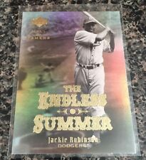 2001 Upper Deck Jackie Robinson The Endless Summer #ES4 Card Nr/Mt-Mt