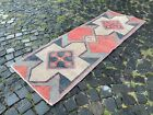 Bohemian rugs, Runner rug, Handmade rug, Turkish rug, Wool, Rug | 2,3 x 6,6 ft