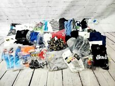 Lot of 54 New With Tags Assorted Brands Men's Small Assorted Clothing -Bbm371