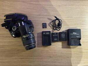 Nikon D3200 DSLR Camera 32GB Card