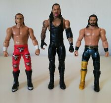 WWE Mattel Basic Figuren Undertaker, Seth Rollins, Shawn Michaels neuwertig