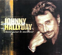 Johnny Hallyday ‎CD Single Vivre Pour Le Meilleur - Limited Edition - Europe