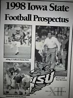 1998 Iowa State Cyclones Spring Football Media Guide