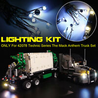 ONLY LED Light Lighting Kit For LEGO 42078 Technic Series The Truck  ⇝ g ∫ Д