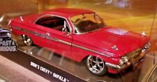 Jada Toys Dom's Chevy Impala 1:24 Red Diecast Car Fast & Furious F8