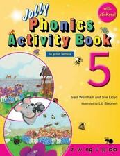 Jolly Phonics Activity Book 5 (in Print Letters) by Sara Wernham and Sue...
