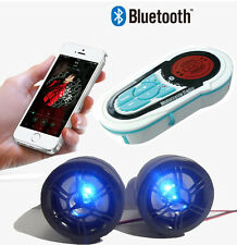 Waterproof Motorcycle Audio Bluetooth Radio Sound System MP3 USB Stereo Speakers