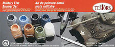 NEW Testors Military Enamel Flat Paint Kit TES9131XT