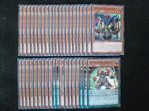 YU-GI-OH 40 CARD SUPERHEAVY SAMURAI DECK  *READY TO PLAY*