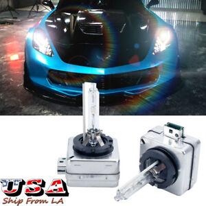 D3S D3R Xenon White 6000K HID Headlight Bulbs For 2014-2019 Chevy Corvette C7
