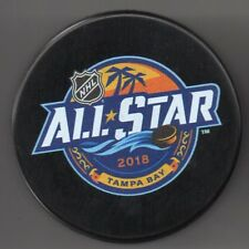 2018 All Star Game Tampa Bay, FL Amalie Arena Official NHL Puck + FREE Cube