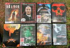 Horror Movie Dvd Lot Seance, Hells Gate, Quarantine, Possesion, Demon Hunter,