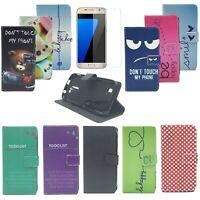 Handy Tasche für Samsung Galaxy Flip Case Schutz Hülle Cover Panzer Schutz Glas