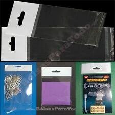 1000 Bolsas PP 12x18 cm Solapa Adhesiva + Eurotaladro