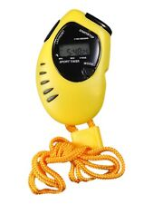 Atlanta Cronógrafo Reloj de cuarzo digital pantalla AMARILLO 0901/2 Cronómetro