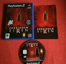 Playstation 2 sony-Forbidden siren game-Rare wanted game-Very good condition