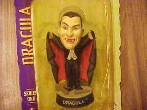 DRACULA Little Big Heads Series 1 Universal Studios Monsters Sideshow NRFP 1998