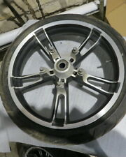 2014 HARLEY DAVIDSON STREET GLIDE, CLASSIC 19X3.5 FRONT WHEEL 43300027 (OPS7013)
