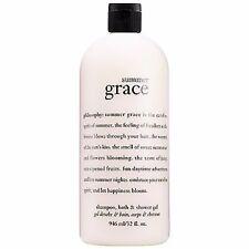 Philosophy Summer Grace Shower Gel 32 Oz Size! Sealed With Pump! Amazing!