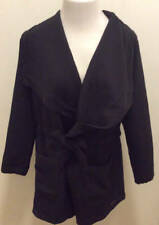 NEW BALANCE Ladies Large Studio Tie Waist Jacket Black