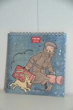 Wand-Kalender Tim und Struppi/ Tintin Calendrier/ Hergé/ 2016 franz. Moulinsart