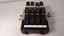 SMC Manifold w/ Valves. 1) NVFS2200 & 3) NVFS2300 & 8) DC21-26V