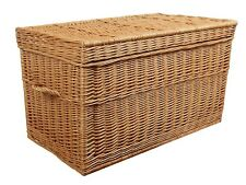 Weidenkorb 50 cm Korbtruhe Truhe Weide Weidentruhe Spielzeugbox Koffer Design