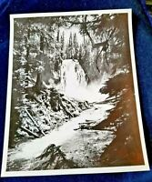 Vintage Oregon State Hwy Commission Photo #1287 Lemolo Waterfall Umpqua River