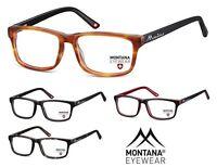 Montatura Per Occhiali Vista Acetato Uomo Donna con Lenti Neutre Montana MA69