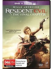 Resident Evil - The Final Chapter (Dvd Only, No UV) Action, Horror, Sci-Fi