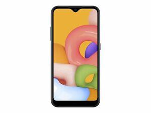 "Prepaid Smartphone  Simple Mobile  Samsung Galaxy A01  5.7"" Display   16 GB  New"