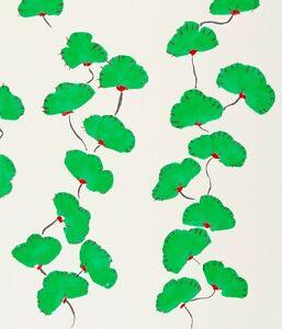 DONALD SULTAN 'Wall Flowers (Green w/ Red)' SIGNED Ltd. Edition Silkscreen Print
