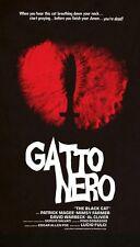Jay Shaw Gatto Nero Black Cat Iron Jaiden Blue Underground Print Mondo Poster