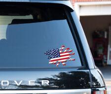 American USA Flag Splat  funny  Decal Sticker Car, Van, Laptop, Doors or Walls