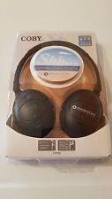 NEW COBY Headphones CV195 Genuine Digital Active Noise-Canceling Headphones