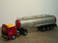 Scania 141 Truck & Tank Trailer Gebr V Lenthe Brummen - Tekno 1:50 *38675