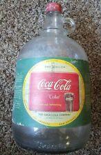 "Vintage 1950's, ""COCA-COLA"", 1-Gallon Syrup Bottle"