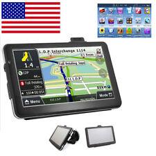 """7"""" Hd Touch Screen Car Truck Gps Navigation Navigator Sat Nav Usa Ca World Maps"""