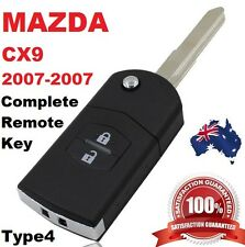 Mazda 6 Rx8 Car Key Transponder Chip Flip Key Keyless Entry Remote Type 2