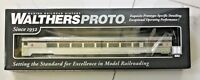 WALTHERS PROTO 1/87 HO CANADIAN PACIFIC 85' BUDD  LOUNGE CAR LIGHTED # 920-14006