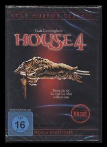 DVD HOUSE 4 - UNCUT - CULT HORROR CLASSIC - SEAN CUNNINGHAM *** NEU ***