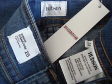 NWT$189 HUDSON SIGNATURE Cover Pocket Boot Cut Jeans ALLU Made in MEXICO Sz 25