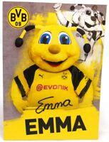 Maskottchen Emma + Autogrammkarte 2018/2019 + Borussia Dortmund + AK201901 +